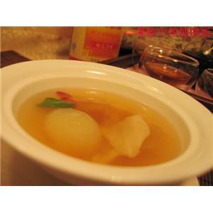 鸽蛋百莲汤