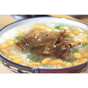 鲮鱼黄豆粥