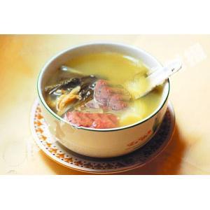 沙参玉竹煲鹅肉