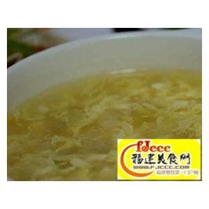 酸辣豆腐蛋花汤