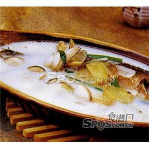羊排蛤蜊炖鲫鱼