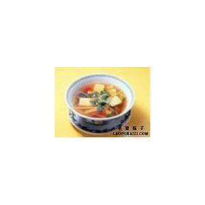 番茄冲菜牛肉丸汤