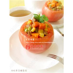 番茄青豆汤
