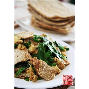 韭菜炒烧饼