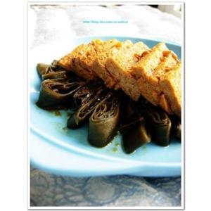 海带扒冻豆腐