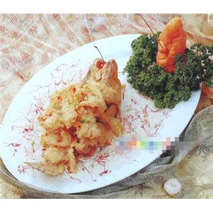 粤式焗鲈鱼
