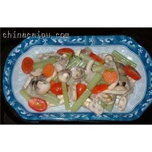蘑菇瘦猪肉汤