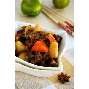 私房胡萝卜土豆炖牛肉