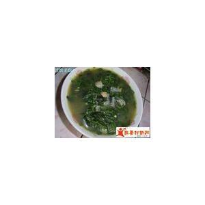 番茄皮蛋菜汤