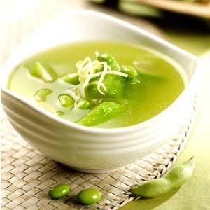 丝瓜绿茶汤