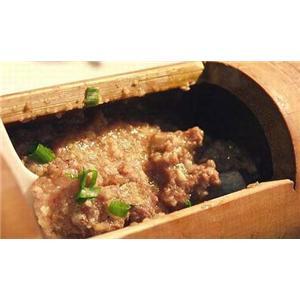 竹筒豆豉蒸排骨