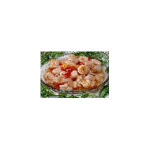 荔枝虾球炒百合