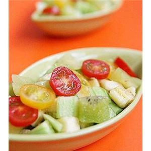 鲜百合冬菇西兰花汤