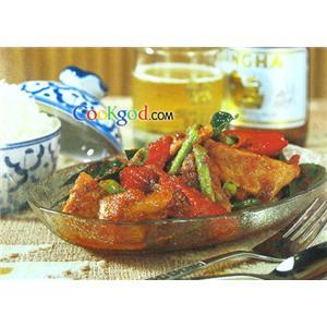 咖喱猪肉干(二)