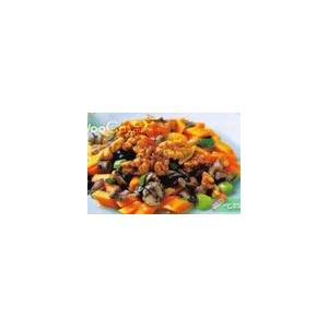蒜苗香菇炒鸡丁