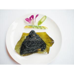红豆黑米花生粽