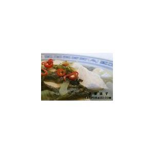 肉末酸菜豆花汤