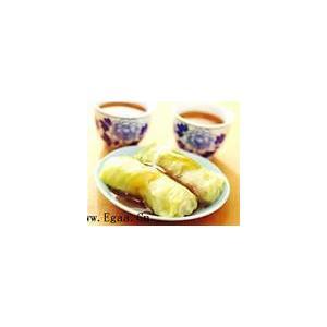 白菜小米卷