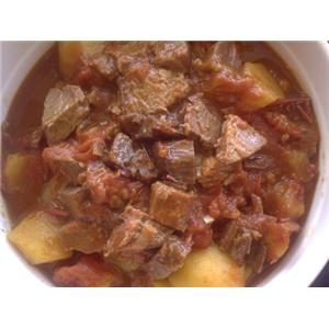 牛肉西红柿炖土豆