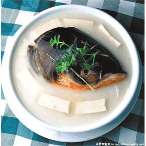 粥水鱼头豆腐