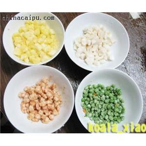 虾仁青豆炒饭
