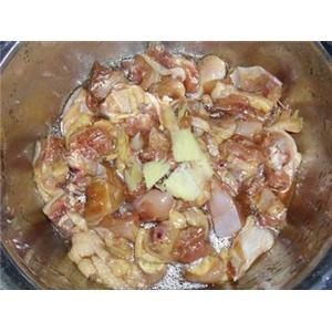 荷叶冬菇蒸鸡