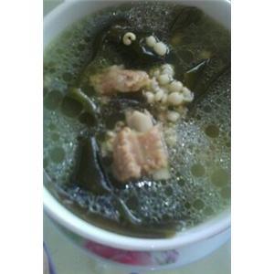 海带薏米排骨汤