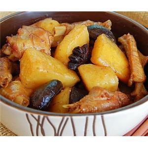 香菇土豆烧鸡