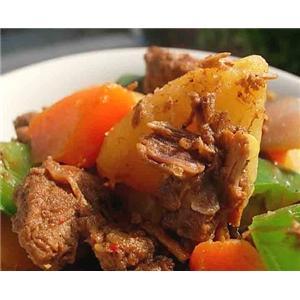 炖新疆羊肉