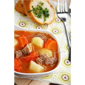 私房番茄牛肉杂蔬汤