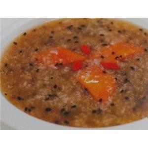 木瓜芝麻粥