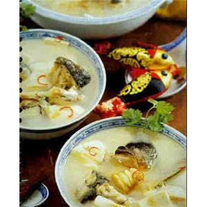 鱼肉豆腐火锅