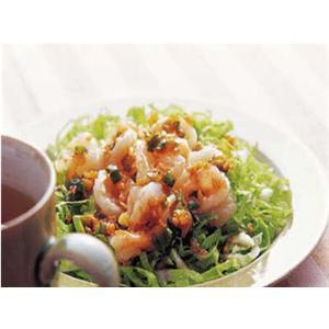 耗油虾仁白菜