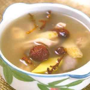 杜仲山楂猪肚汤