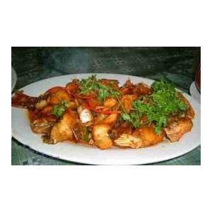 红烧香菇肉末鱼