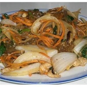 韩国料理炒杂菜