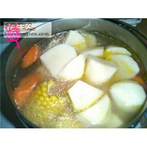 玉米土豆球