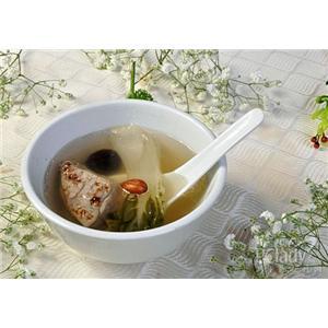 阿胶白肉汤