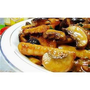 蚝油三菇笋尖