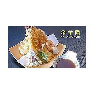 芥汁软炸虾