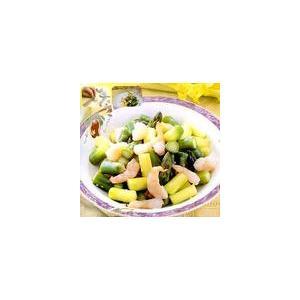鲜蘑拌虾仁