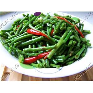肉末榄菜四季豆