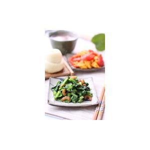 海米香菇炒掐菜