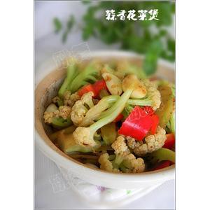 蒜香花菜煲