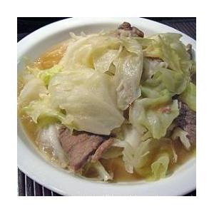 椰菜加虾米猪肉片