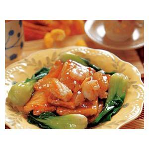 火腿虾粒扒豆腐