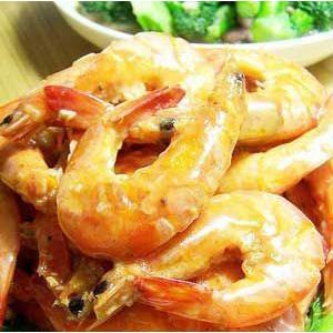 奶汁蒜蓉虾
