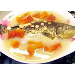 木瓜鲤鱼汤