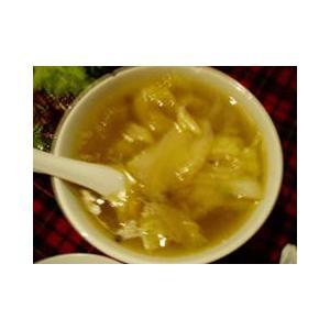 豆腐鱼片生菜汤