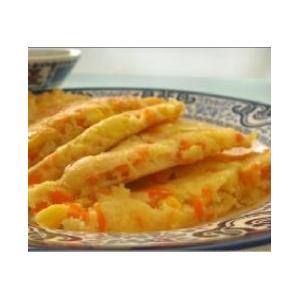 玉米胡萝卜煎饼